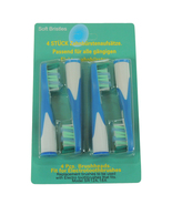 Electric Toothbrush Brush Heads for Braun Oral-b Sonic Complete 4-Pack - $6.99