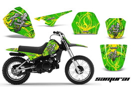 Yamaha Pw80 Graphics Kit Creatorx Decals Samurai Yg - $108.85