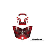 CAN-AM BRP SPYDER F3 HOOD GRAPHICS KIT SPIDERX RED - $138.60