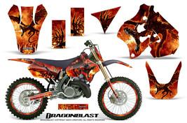 Suzuki Rm 250 1996 1998 Graphics Kit Creatorx Decals Dragonblast Npr - $277.15