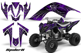 Yamaha Raptor 700 06-12 Graphics Kit Creatorx Decals Spiderx Purple - $157.09