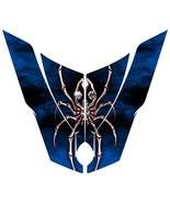 CAN-AM BRP SPYDER RT HOOD CREATORX GRAPHICS KIT SPIDERX XL RED BLUE - $122.22