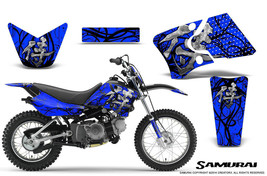 Yamaha Ttr90 Creatorx Graphics Kit Decals Samurai Bbl - $168.25