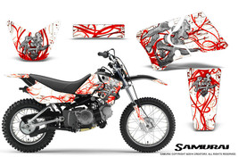 Yamaha Ttr90 Creatorx Graphics Kit Decals Samurai Rw - $168.25