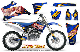 Yamaha Yz250 F Yz450 F 06 09 Graphics Kit Creatorx Decals Lsbl - $178.15