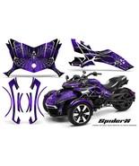 CAN-AM BRP SPYDER F3 GRAPHICS KIT CREATORX DECALS SPIDERX PR - $395.95