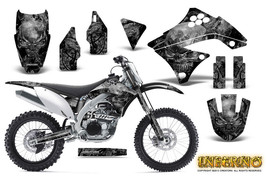 KAWASAKI KXF450 KX450F 09-11 GRAPHICS KIT CREATORX DECALS INFERNO S - $178.15
