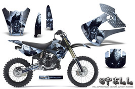 Kawasaki KX85 KX100 2001-2013 Graphics Kit CREATORX Decals SPELL S - $178.15