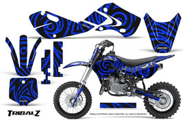 KAWASAKI KLX110 02-09 KX65 00-12 GRAPHICS KIT CREATORX DECALS TRIBALZ BL - $138.55