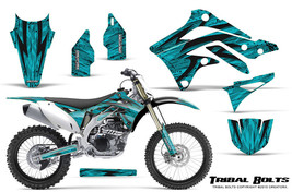 KAWASAKI KXF450 KX450F 12-15 CREATORX GRAPHICS KIT DECALS TRIBAL BOLTS T - $178.15