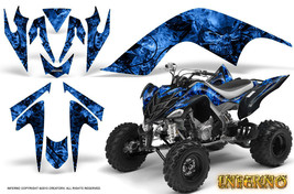 Yamaha Raptor 700 Graphics Kit Decals Stickers Creatorx Inferno Blb - $178.15