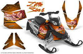 Ski Doo Rev Xp Snowmobile Sled Graphics Kit Wrap Decals Creatorx Lso - $296.95