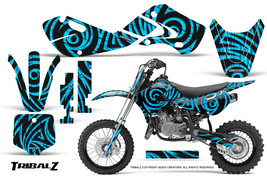 KAWASAKI KLX110 02-09 KX65 00-12 GRAPHICS KIT CREATORX DECALS TRIBALZ BLI - $138.55
