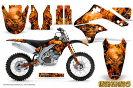 KAWASAKI KXF450 KX450F 06-08 GRAPHICS KIT DECALS INFERNO INFB - $178.15