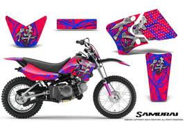 Yamaha Ttr90 Creatorx Graphics Kit Decals Samurai Blr - $168.25