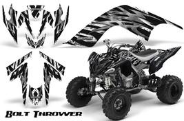 Yamaha Raptor 700 06-12 Graphics Kit Creatorx Decals Bolt Thrower White - $157.09