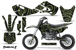 KAWASAKI KLX110 02-09 KX65 00-12 GRAPHICS KIT CREATORX DECALS TRIBALZ GA - $138.55