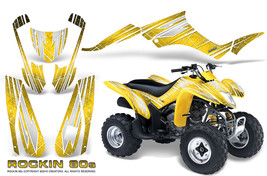 Suzuki Ltz 250 Graphics Kit Creatorx Ltz250 Decals Stickers Rockin 80 S Y - $178.15