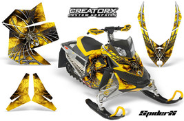 Ski Doo Rev Xp Snowmobile Sled Graphics Kit Wrap Decals Creatorx Spiderx Sxyyb - $296.95