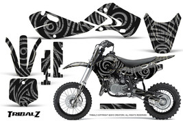 KAWASAKI KLX110 02-09 KX65 00-12 GRAPHICS KIT CREATORX DECALS TRIBALZ S - $138.55