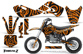 KAWASAKI KLX110 02-09 KX65 00-12 GRAPHICS KIT CREATORX DECALS TRIBALZ O - $138.55