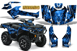 Can Am Outlander 500 650 800 1000 2013 2016 Graphics Kit Creatorx Inferno Bl - $267.25
