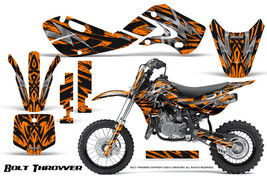 KAWASAKI KLX110 02-09 KX65 00-12 GRAPHICS KIT CREATORX DECALS BTO - $138.55