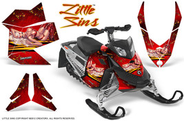 Ski Doo Rev Xp Snowmobile Sled Graphics Kit Wrap Decals Creatorx Lsr - $296.95