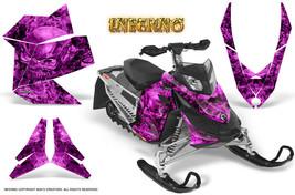 Ski Doo Rev Xp Snowmobile Sled Graphics Kit Wrap Creatorx Decals Inferno P - $296.95