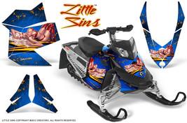 Ski Doo Rev Xp Snowmobile Sled Graphics Kit Wrap Decals Creatorx Lsbl - $296.95