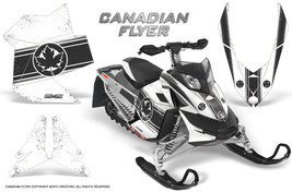 Ski Doo Rev Xp Snowmobile Sled Graphics Kit Wrap Creatorx Decals Can Flyer Bw - $296.95