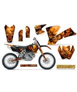 KTM 03-04 EXC XC 01-02 SX 125/250/450/525/520 GRAPHICS KIT CREATORX INFERNO - $178.15
