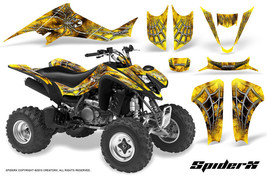 Suzuki Ltz 400 Kawasaki Kfx 400 03 08 Graphics Kit Creatorx Decals Spiderx Sxyb - $178.15