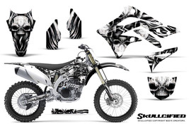KAWASAKI KXF450 KX450F 12-15 CREATORX GRAPHICS KIT DECALS SKULLCIFIED S - $178.15