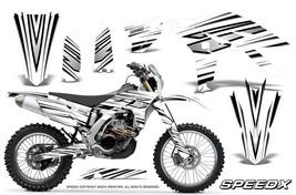 Yamaha Wr450 F 2012 2013 2014 Graphics Kit Creatorx Decals Speedx Bwnp - $257.35
