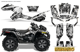 Can Am Outlander Xmr 500 650 800 R Graphics Kit Decals Stickers Inferno W - $267.25
