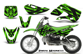 KAWASAKI KLX110 02-09 KX65 00-12 GRAPHICS KIT CREATORX DECALS TMG - $138.55