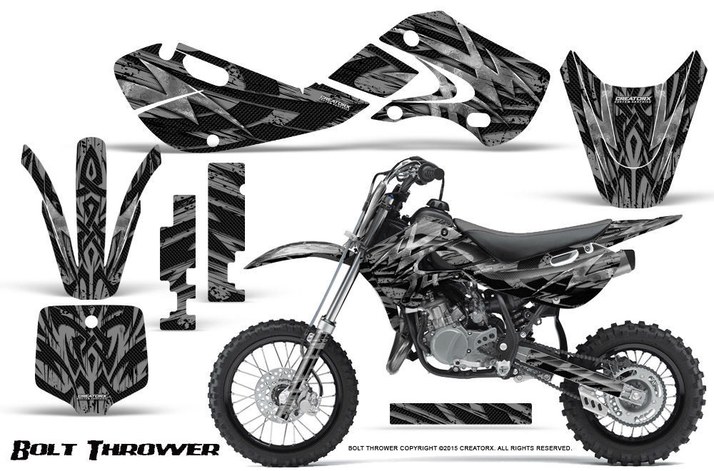 Primary image for KAWASAKI KLX110 02-09 KX65 00-12 GRAPHICS KIT CREATORX DECALS BTS
