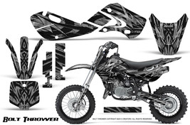 KAWASAKI KLX110 02-09 KX65 00-12 GRAPHICS KIT CREATORX DECALS BTS - $138.55