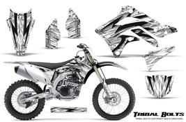 KAWASAKI KXF450 KX450F 12-15 CREATORX GRAPHICS KIT DECALS TRIBAL BOLTS W - $178.15