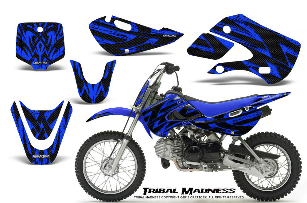Primary image for KAWASAKI KLX110 02-09 KX65 00-12 GRAPHICS KIT CREATORX DECALS TMBL