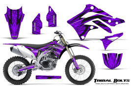 KAWASAKI KXF450 KX450F 12-15 CREATORX GRAPHICS KIT DECALS TRIBAL BOLTS PR - $178.15