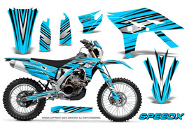 Yamaha Wr450 F 2012 2013 2014 Graphics Kit Creatorx Decals Speedx Bblinp - $257.35