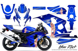 Suzuki Gsxr Gsx 600 750 2004 2005 Graphic Kits Creatorx Decals Stickers Yrbl - $296.95