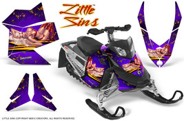 Ski Doo Rev Xp Snowmobile Sled Graphics Kit Wrap Decals Creatorx Lspr - $296.95