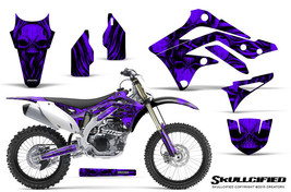 KAWASAKI KXF450 KX450F 12-15 CREATORX GRAPHICS KIT DECALS SKULLCIFIED PR - $178.15
