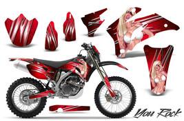 Yamaha Wr250 F Wr450 F 2007 2011 Graphics Kit Creatorx Decals Yrrnp - $257.35