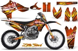 Yamaha Yz450 F 2010 2013 Graphics Kit Creatorx Decals Lsonp - $257.35