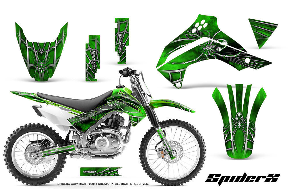 Kawasaki Klx 140 08 14 Graphics Kitcreatorx And 18 Similar Items