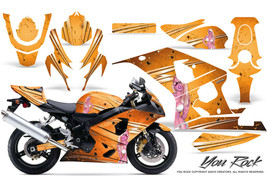 Suzuki Gsxr Gsx 600 750 2004 2005 Graphic Kits Creatorx Decals Stickers Yro - $296.95